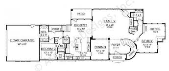 Chambers Bay House Plans   Texas Narrow   Home Plans By Archival    Chambers Bay House Plan   House Plan   Texas Narrow   First Floor Plan