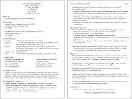 resume examples umd sample resume shannon programmer