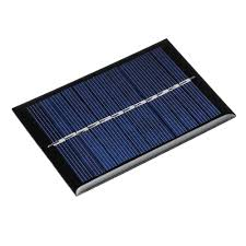 5pcs <b>0.6W 6V</b> 90*60*3mm <b>Mini</b> Photovoltaic Epoxy Solar Panel DIY ...