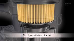 Patented MAHLE pin <b>element for oil filters</b> - YouTube