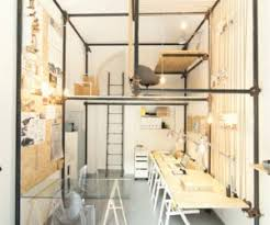 modern architects interior design office 14 sqm architecture office featuring an internal pipe structure architecture office interior