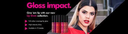 <b>Sleek Makeup</b> Lipshot Campaign