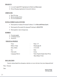 simple resume format for freshers template template resume format simple resume format for resumes format for freshers