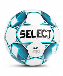 <b>Мяч футбольный Select Team</b>, белый, голубой, черный