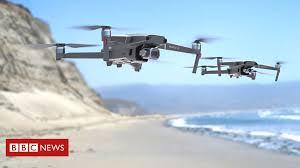 <b>DJI Mavic 2</b> drones add obstacle sensors to all sides - BBC News