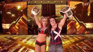WWE Clash Of Champions: Mandy Rose & Sonya Deville Vs. Nikki ...