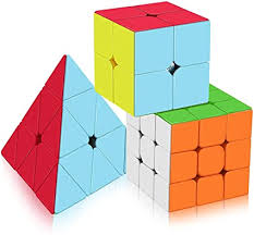 brain teaser Cube Speed Puzzle Kids Mind Toy Square Magic ...