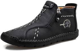 Funbility Men's Microfiber Leather Soft Leather ... - Amazon.com