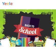 <b>Yeele Wallpaper Back to</b> School Books Pencils Party Photography ...