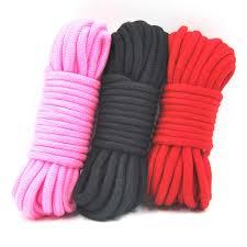 10 м <b>хлопковая веревка для связывания</b> БДСМ бондаж веревка ...