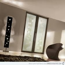 room modern camille glass: double glass door  contemporary interior double glass door