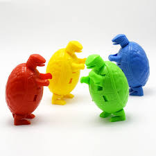 <b>3pcs</b>/<b>lot</b> Creative Deformation Dinosaur Animals Egg Action Toy ...