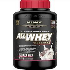 ALLMAX Nutrition - <b>AllWhey Gold</b> - <b>100</b>% Whey Protein + Premium ...