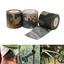 Camouflage Tape Adhesive Roller Wrap Scroll Outdoor Guise ...