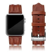 SWEES <b>Leather Band</b> Compatible with iWatch 42mm 44mm ...