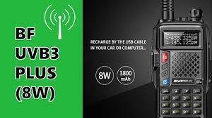 <b>BAOFENG BF</b>-UVB3 PLUS <b>8W</b> - IS THIS THE <b>8W</b> RADIO YOU NEED?