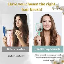 <b>Janeke Superbrush</b> Detangler Brush Anti-s- Buy Online in Albania at ...