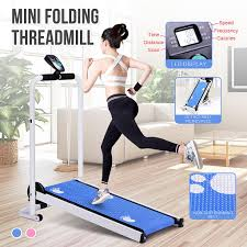 <b>Mini Folding Treadmill</b> Silent Mechanical Fitness Home Gym Sport ...