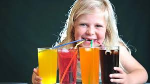 Image result for kids drinking soda pop