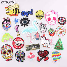 <b>ZOTOONE</b> DIY Unicorn <b>Flower Patch</b> Cool Kids Iron on Cartoon ...