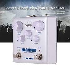 Walmeck <b>NUX</b> MASAMUNE Booster & Kompressor Analog Boost ...