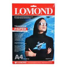 <b>Термотрансферная бумага LOMOND A3</b>/50л струйный для ...