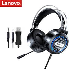 Original <b>Lenovo H401 Gaming Headset</b> 7.1 Stereo Surround ...