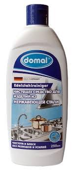 <b>Чистящее средство</b> для изделий из нержавеющей стали <b>Domal</b> ...
