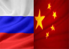 Image result for Russia and China FLAG