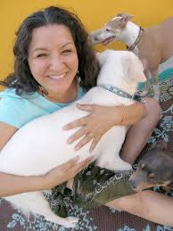 sandra s story author sandra cisneros her dogs at her residence in san antonio texas the acclaimed author will the cortez public library tonight at 7