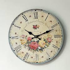 2016 New Arrival Modern Wall Clock Wood Decorative Wall Clock ...