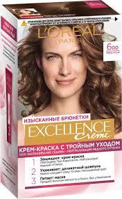 <b>L</b>'<b>Oreal</b> Paris Стойкая <b>крем</b>-<b>краска</b> для волос Excellence, оттенок ...