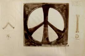 See the Original 1958 Sketches for the <b>Peace Symbol</b>