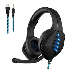 <b>J1</b> Stereo <b>Gaming Headset</b> Over Ear Wired Game Headphones With ...