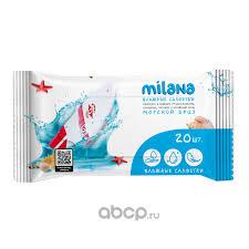 <b>GraSS</b> IT0576 <b>Влажные</b> антибактериальные <b>салфетки Milana</b> ...