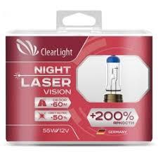 «<b>Лампа автомобильная</b> галогенная <b>Clearlight HB4</b> Vision Plus +50 ...