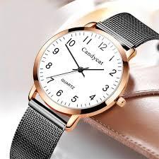 Женские часы <b>relogio</b> из <b>нержавеющей стали</b> с сетчатым <b>поясом</b> ...