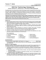 resume sample best ceo resume example 14 ceo resume sample winning resumes examples