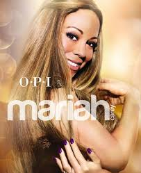 OPI worked together with Mariah Carey! OPI has worked with more celibrities before like; Nicki Minaj, Katy Perry etc. It's Mariah's turn now ^_^! - -OPIMariahcareycollection-