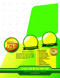 carpet cleaning service flyer by tholai graphicriver preview 1 a jpg