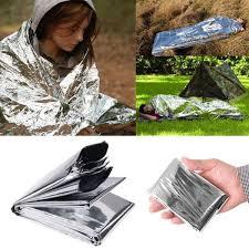 rescue <b>emergent blanket</b> survive thermal mylar <b>lifesave</b> first aid kit ...