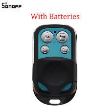 <b>Sonoff</b> 433MHz <b>4</b> Channel RF Remote Controller ABCD <b>4 Buttons</b> ...