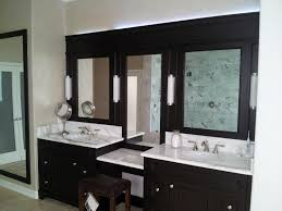 furniture astounding ideas black and white double sink bathroom vanity with mirror makeup area also fluorescent bathroom magnificent contemporary bathroom vanity lighting style