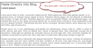 Image result for formatting a blog post