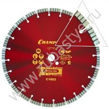<b>Алмазный диск Champion</b> 350 C1603 по бетону — Купить в СПб