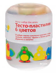ROZETKA | Мини-набор для <b>лепки Genio</b> Kids <b>Тесто</b>-пластилин 6 ...