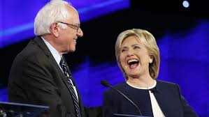Image result for clinton sanders