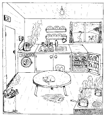 Small Picture Kitchen room 21 Buildings and Architecture Printable coloring