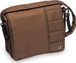 <b>Сумка</b> на коляску <b>Moon Messenger Bag</b> Chocolate Structure (005 ...
