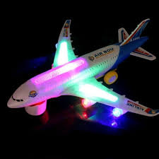 A380 Plane <b>Model Flashing</b> Sound <b>Electric Airplane</b> Kids Toys ...